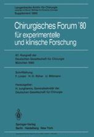 Chirurgisches Forum'80