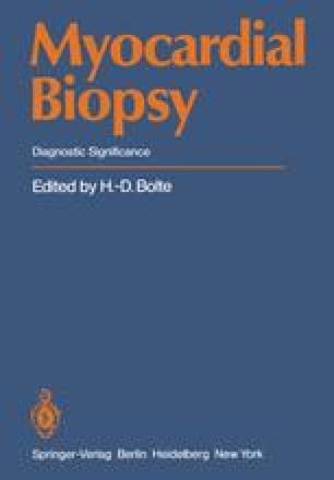 Myocardial Biopsy