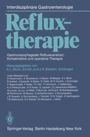 Refluxtherapie