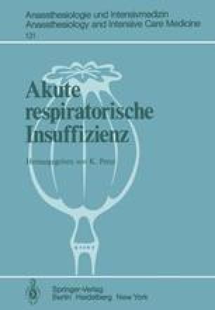 Akute respiratorische Insuffizienz