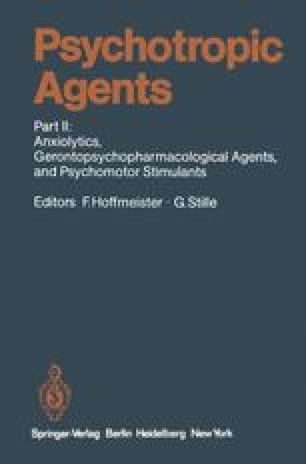 Psychotropic Agents