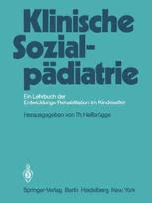 Klinische Sozialpädiatrie