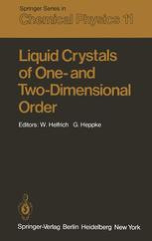 Liquid Crystals of One- and Two-Dimensional Order
