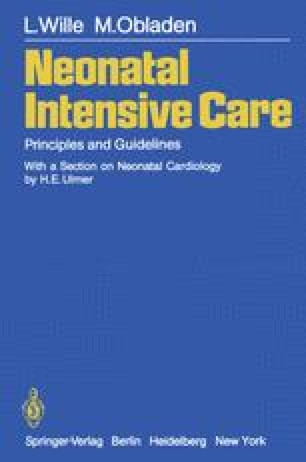 Neonatal Intensive Care