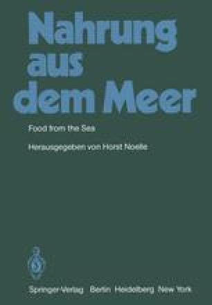Nahrung aus dem Meer / Food from the Sea
