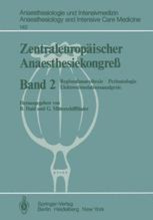 Zentraleuropäischer Anaesthesiekongreß