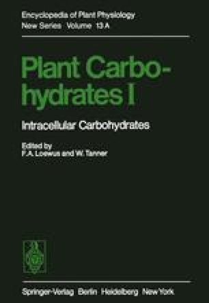 Plant Carbohydrates I