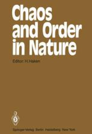 Chaos and Order in Nature