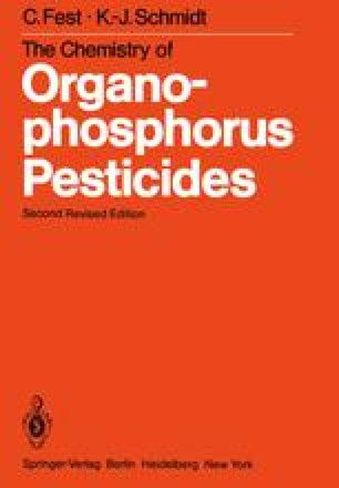 The Chemistry of Organophosphorus Pesticides