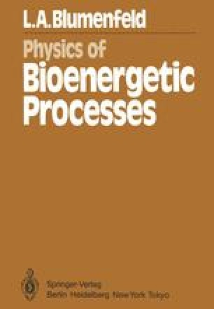Physics of Bioenergetic Processes