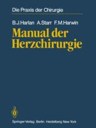 Manual der Herzchirurgie