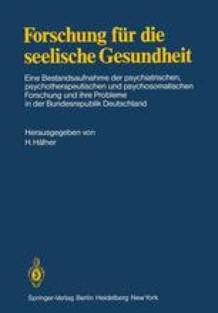 Forschung für die seelische Gesundheit