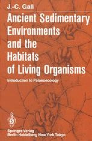 Ancient Sedimentary Environments and the Habitats of Living Organisms