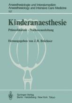 Kinderanaesthesie