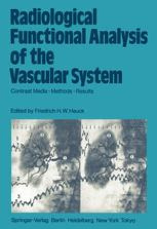 Radiological Functional Analysis of the Vascular System