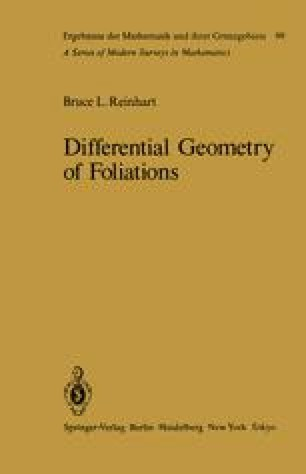 Differential Geometry of Foliations
