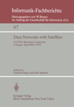 Design Considerations for Data Networks via Satellite