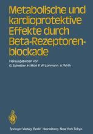 Metabolische und kardioprotektive Effekte durch Beta-Rezeptorenblockade