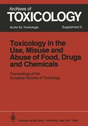 Toxicology in the Use, Misuse, and Abuse of Food, Drugs, and Chemicals
