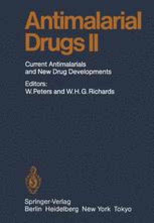 Antimalarial Drug II