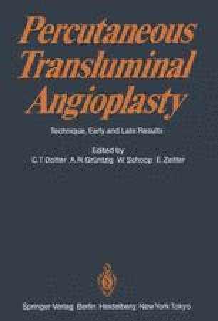 Percutaneous Transluminal Angioplasty