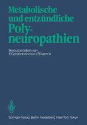 Metabolische und entzündliche Polyneuropathien