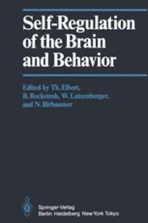 Self-Regulation of the Brain and Behavior