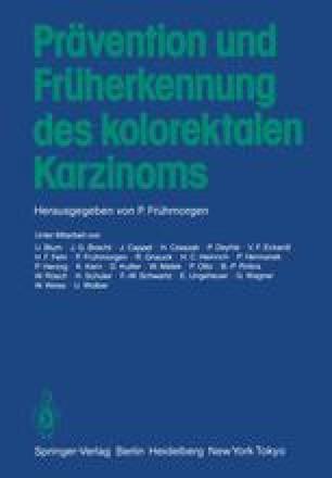 Prävention und Früherkennung des kolorektalen Karzinoms