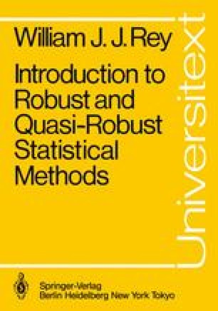 Introduction to Robust and Quasi-Robust Statistical Methods