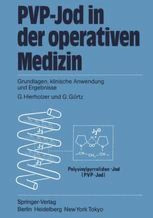 PVP-Jod in der operativen Medizin