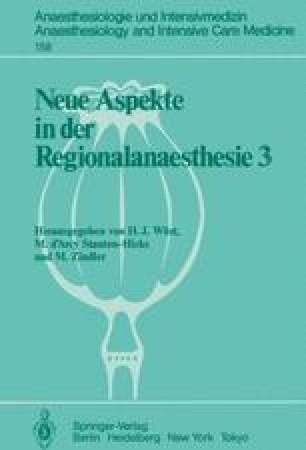 Neue Aspekte in der Regionalanaesthesie 3