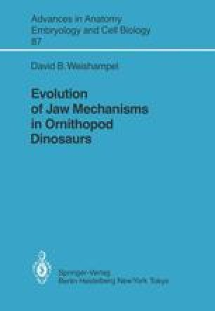 Evolution of Jaw Mechanisms in Ornithopod Dinosaurs
