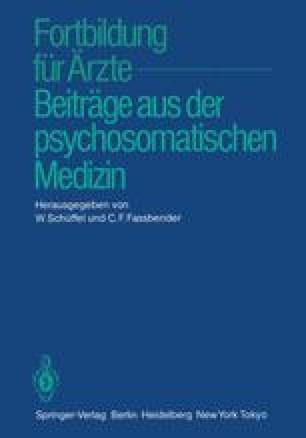 Fortbildung für Ärzte — Beiträge aus der psychosomatischen Medizin