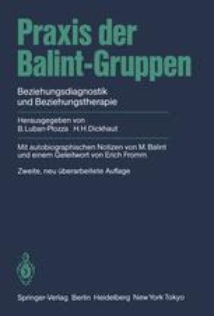 Praxis der Balint-Gruppen
