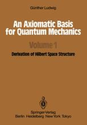 An Axiomatic Basis for Quantum Mechanics