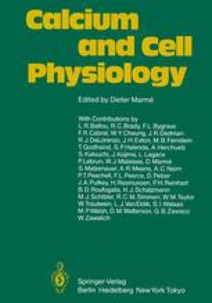 Calcium and Cell Physiology