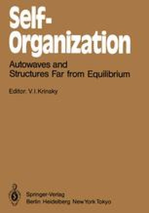 Self-Organization Autowaves and Structures Far from Equilibrium
