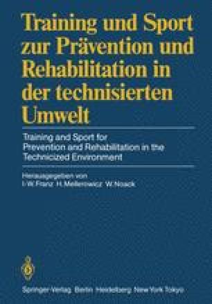 Training und Sport zur Prävention und Rehabilitation in der technisierten Umwelt / Training and Sport for Prevention and Rehabilitation in the Technicized Environment