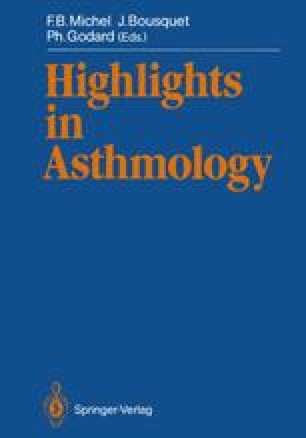 Highlights in Asthmology