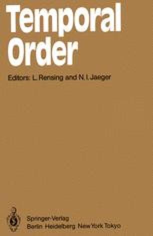 Temporal Order