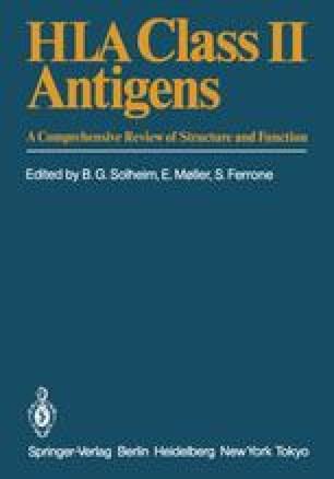 HLA Class II Antigens