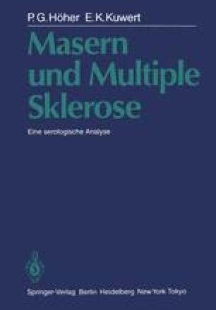 Masern und Multiple Sklerose