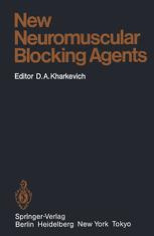 New Neuromuscular Blocking Agents