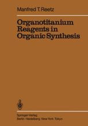 Organotitanium Reagents in Organic Synthesis