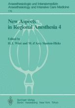 New Aspects in Regional Anesthesia 4