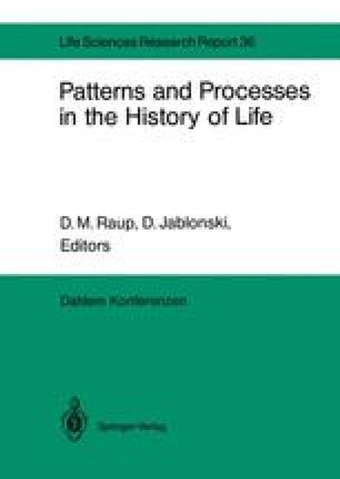 Patterns and Processes in the History of Life