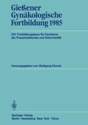 Gießener Gynäkologische Fortbildung 1985