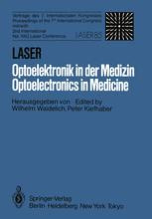 Laser/Optoelectronics in Medicine/Laser/Optoelektronik in der Medizin