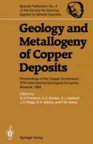 Geology and Metallogeny of Copper Deposits