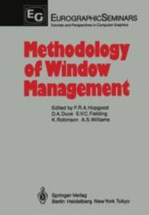 Methodology of Window Management